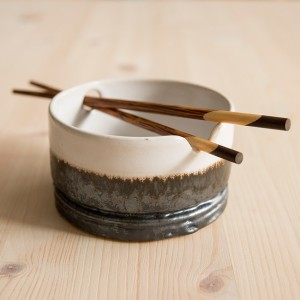 Rosella Schembri - Noodle bowl with chopsticks